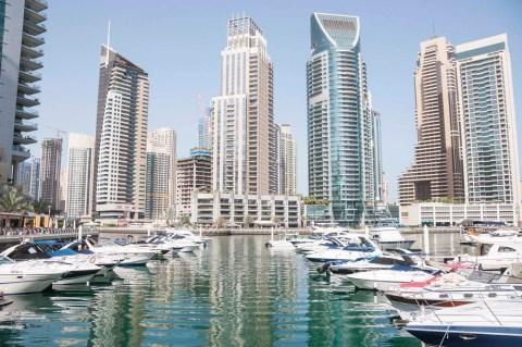 marina bay - dubai - emirats arabe unis
