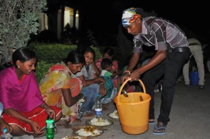 repas temple thai bodhgaya - inde