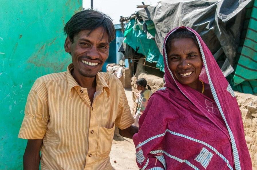 scene de vie habitants bodhgaya - inde