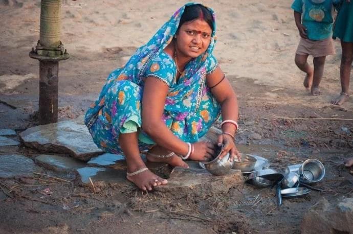 vaisselle bodhgaya - inde