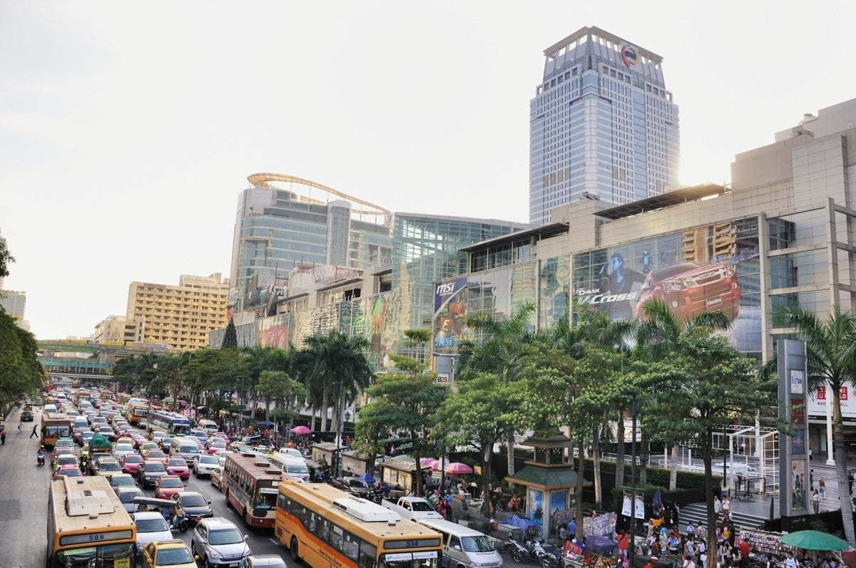 Shopping mall Central World Bangkok