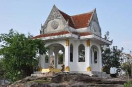 Proche du temple au Khao Phra Wihan National Park