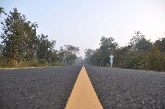 Route 2112-Khong Chiam-Sam-Phan-Bok-Ubon Ratchathani-Thailande