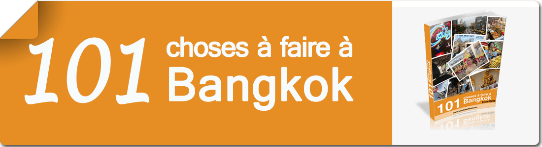 101 Choses a faire a Bangkok banner