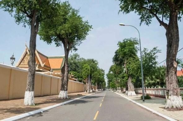 enceinte palais royal phnom penh