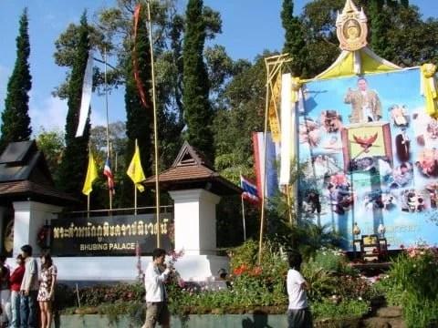 Buphing Palace Doi Suthep