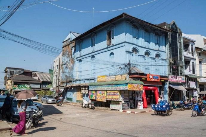 rue mawlamyine birmanie