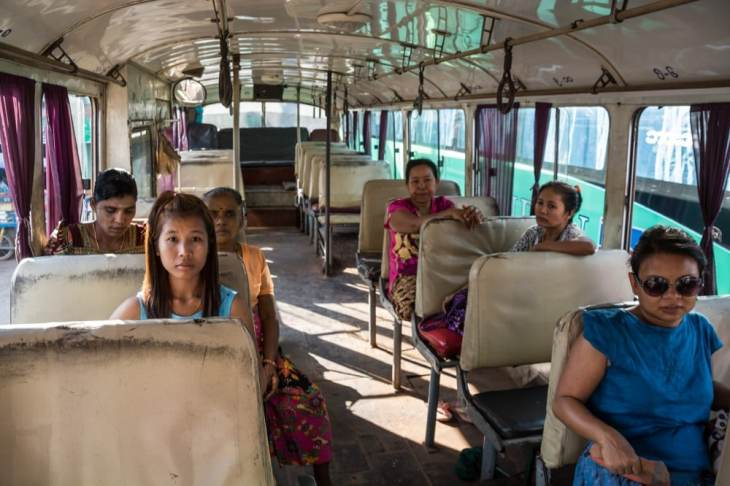 bus mawlamyine hpa an birmanie