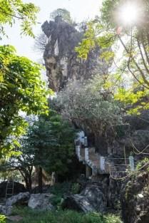 pagode de Kyauk Ka lat Hpa An Birmanie