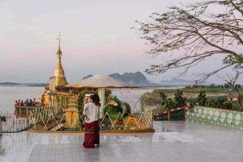 pagode de Shwe Yin Myaw hpa an birmanie