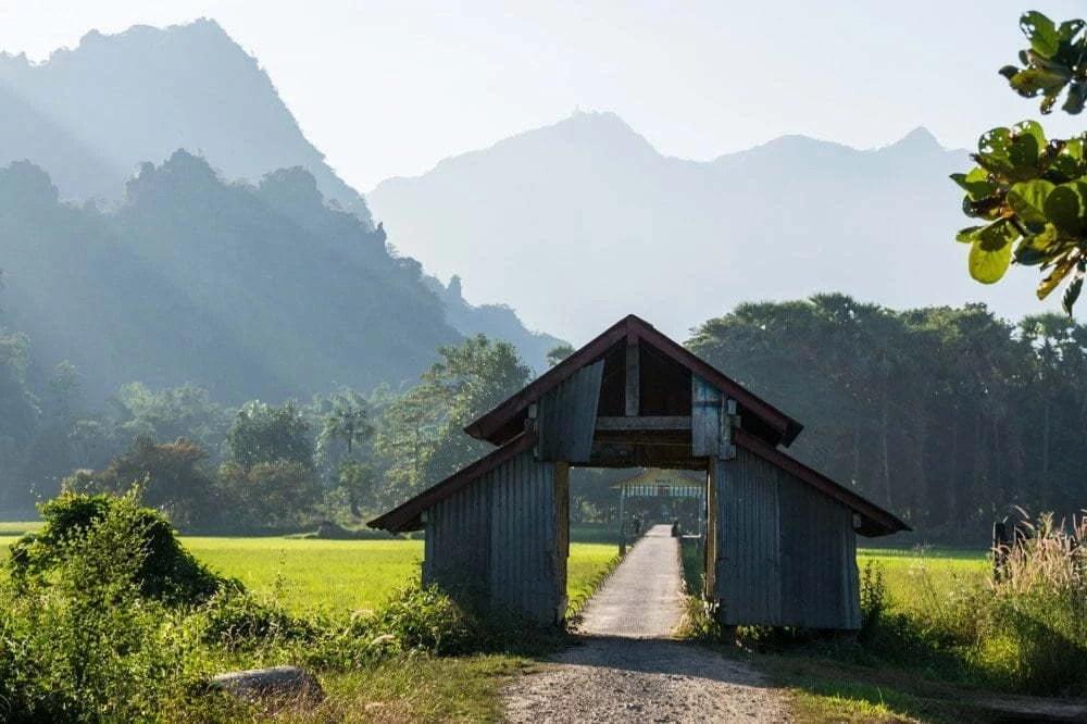 village lakkana hpa an birmanie