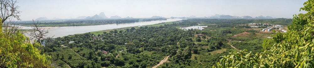 vue mont hpan pu hpa an birmanie