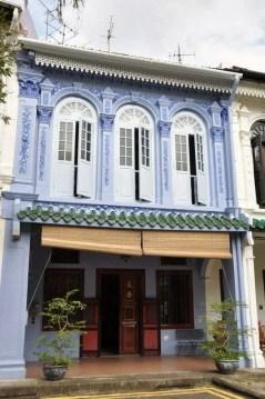 quartier face orchard road Singapour