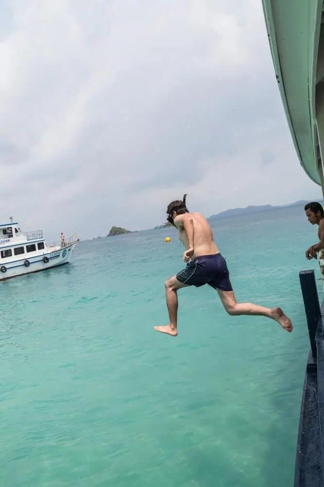 snorkeling koh rang