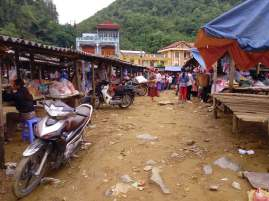 marché lung phin nord vietnam