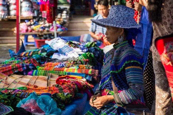 marché Bac Ha Vietnam