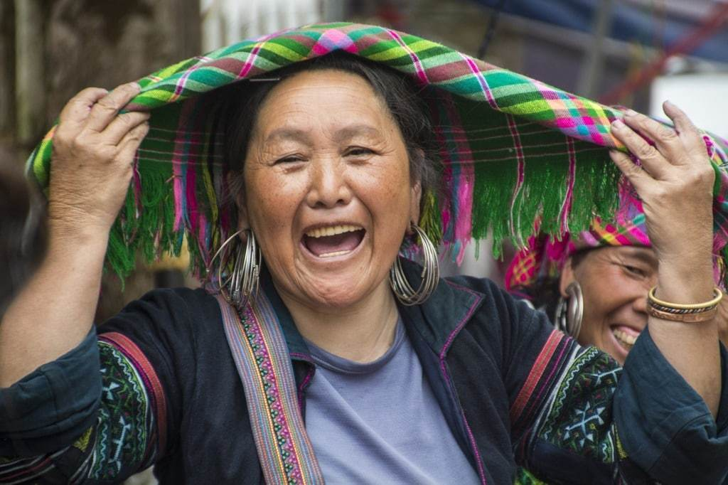 marché Sapa Hmong Vietnam