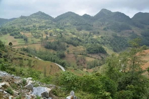 paysage nord Vietnam - Bac Ha - Vinh Quang