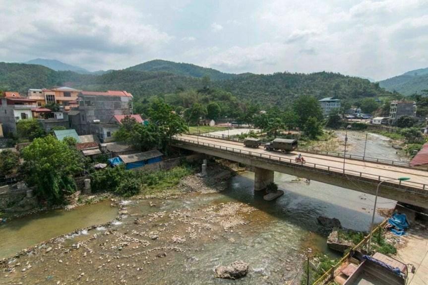 moto nord Vietnam - vue Bao Lac