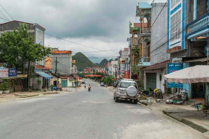 moto nord Vietnam - Tam Son