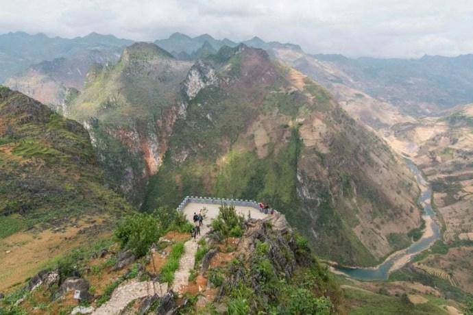 moto nord Vietnam - Ma Pi Leng