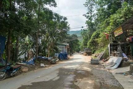 moto nord Vietnam - route Bao Lac