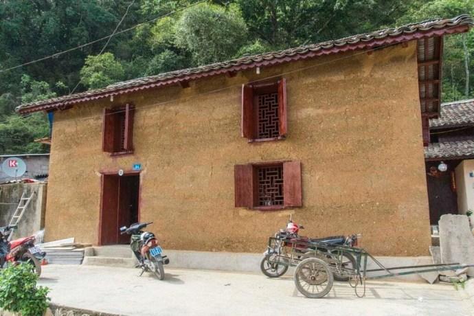 moto nord Vietnam - maison Dong Van