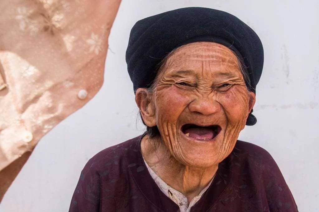 nord Vietnam - vieille Hmong - Dong Van