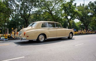 cortège royal thailande
