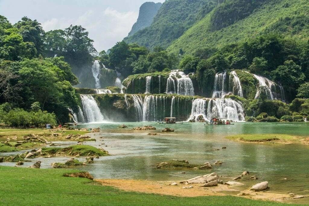chutes ban gioc - Vietnam