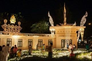 deco anniversaire du roi thailande