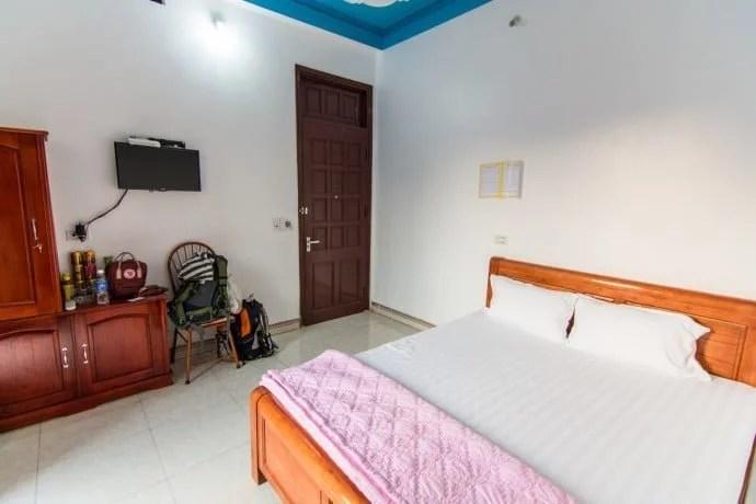 chambre hotel Bac Son - nord Vietnam