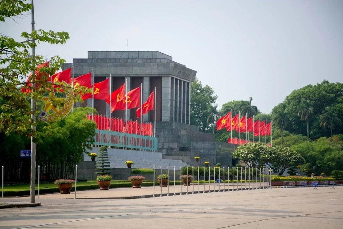 mausolé Ho Chi Minh Hanoi