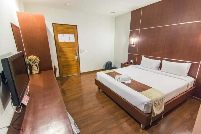 La chambre du FIG hôtel à Kamphaeng Phet.