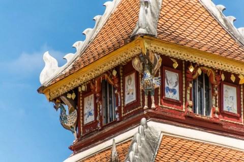 detail toit pavillon wat pong sanuk nua lampang
