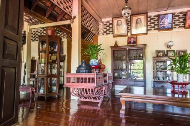 interieur baan sao nak lampang thailande