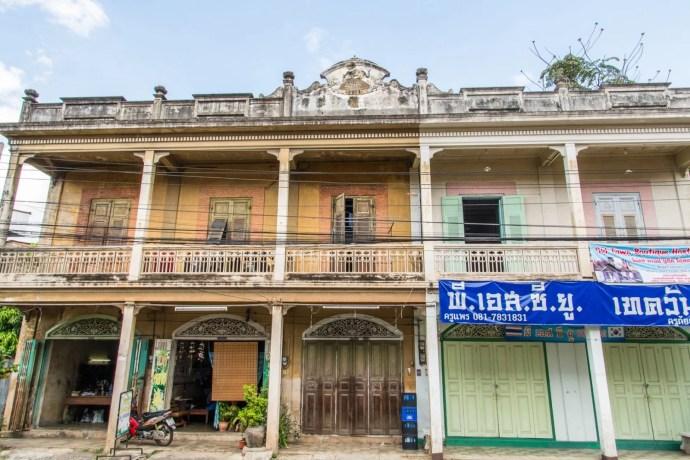 kad kong ta - yean si tai li ki building - lampang thailande