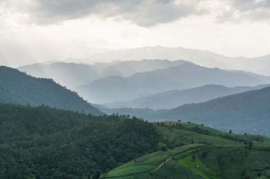 montagne baan pa pong pieng - chiang mai