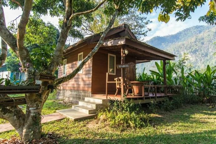 bungalow at home chiang dao resort