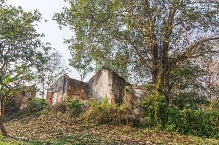 huay xai - fort carnot - laos