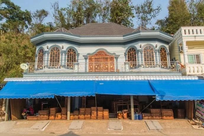 maison a huay xai - laos