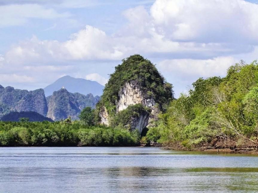 paysage de krabi - thailande