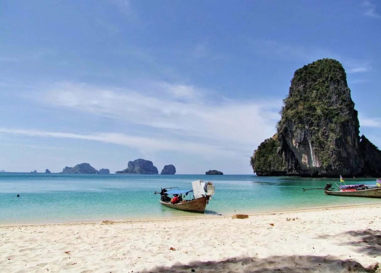 plage phra nang railay krabi -thailande