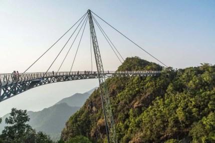 pont suspendu sky bridge langkawi - malaisie