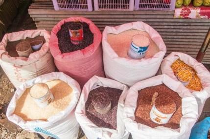 marché jour mae salong - thailande