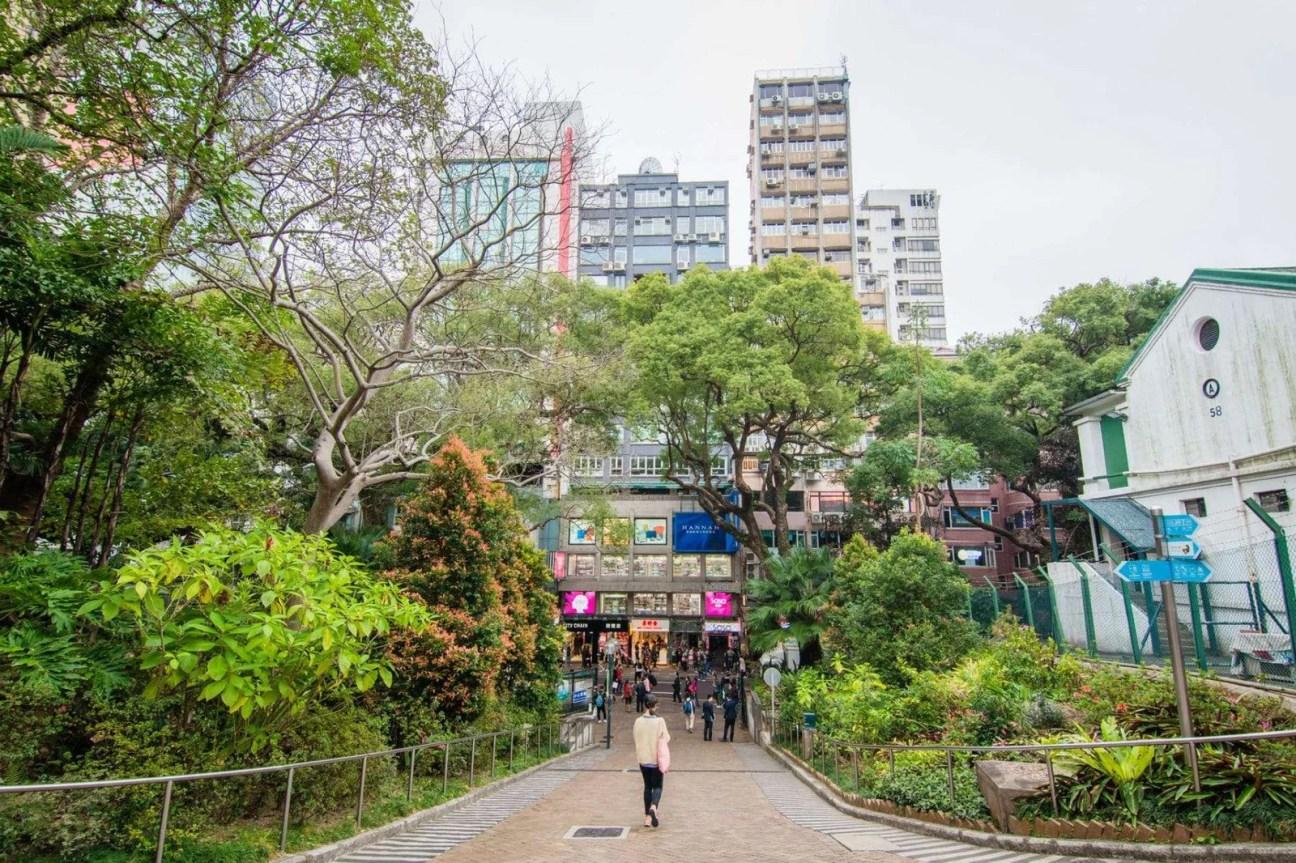 kowloon park - hong kong