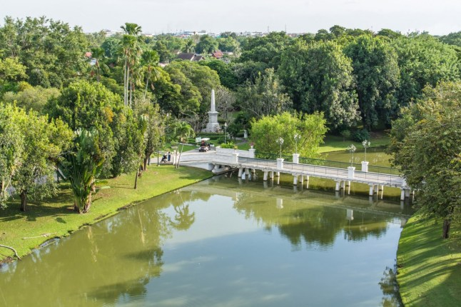 point de vue parc bang pa in - thailande