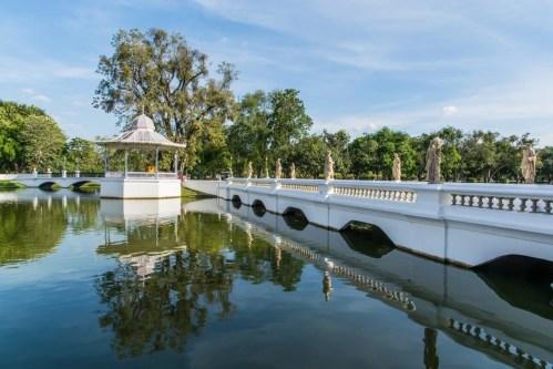 pont - bang pa in - thailande