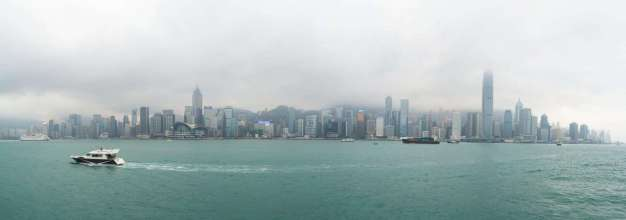 vue depuis quais kowloon - hong kong