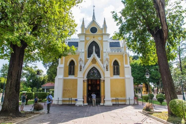 wat niwet - palais bang pa in - thailande
